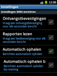 Samsung S5300 Galaxy Pocket - MMS - probleem met ontvangen - Stap 4