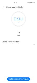 Huawei P40 Pro - Aller plus loin - Mettre à jour le logiciel interne de votre mobile - Étape 7