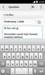 Huawei Ascend Y330 - E-mail - e-mail versturen - Stap 9