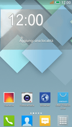 Alcatel One Touch Idol Mini - E-mail - configurazione manuale - Fase 1