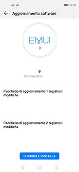 Huawei Nova 5T - Software - Installazione degli aggiornamenti software - Fase 6