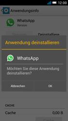 Alcatel One Touch Idol Mini - Apps - Eine App deinstallieren - Schritt 7