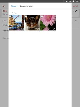 Samsung Galaxy Tab A 9.7 - E-mail - Sending emails - Step 14