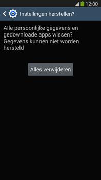 Samsung N9005 Galaxy Note III LTE - Resetten - Fabrieksinstellingen terugzetten - Stap 8