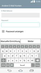LG G3 S - E-Mail - Konto einrichten - 0 / 0