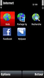 Nokia 5800 Xpress Music - Internet - navigation sur Internet - Étape 3