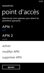 Nokia Lumia 620 - Internet - configuration manuelle - Étape 21