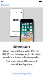Apple iPhone SE - iOS 11 - Persönliche Einstellungen von einem alten iPhone übertragen - 9 / 29