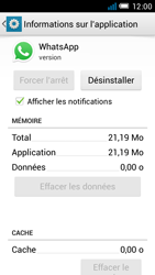 Alcatel One Touch Idol Mini - Applications - Comment désinstaller une application - Étape 6