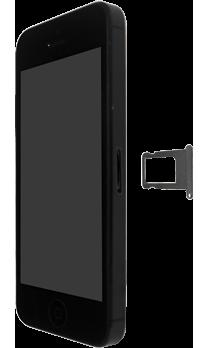 Apple iPhone SE - iOS 13 - Toestel - Simkaart plaatsen - Stap 3