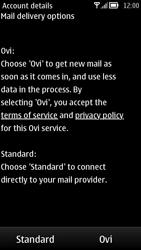 Nokia 700 - Email - Manual configuration - Step 11
