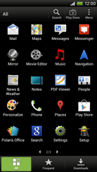HTC S720e One X - MMS - Manual configuration - Step 3