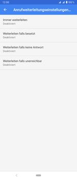 Sony Xperia 1 - Anrufe - Rufumleitungen setzen und löschen - Schritt 9