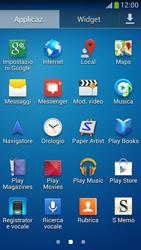 Samsung Galaxy S 4 Mini LTE - Applicazioni - Come verificare la disponibilità di aggiornamenti per l