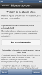 Apple iPhone 5 - Applicaties - Account instellen - Stap 6