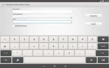 Sony Xperia Tablet Z2 LTE - E-mail - configurazione manuale - Fase 14