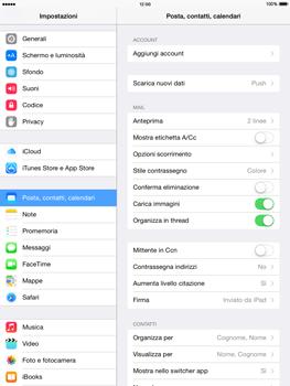 Apple iPad mini 2 - iOS 8 - E-mail - configurazione manuale - Fase 4