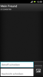 Sony Xperia J - MMS - Erstellen und senden - Schritt 11