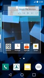LG K4 - Applications - Personnaliser l