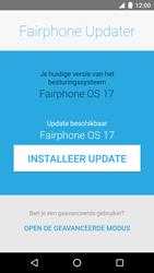 Fairphone Fairphone 2 (2017) - Software updaten - Update installeren - Stap 6