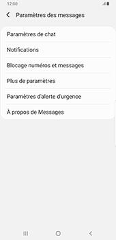 Samsung Galaxy S9 Plus - Android Pie - SMS - configuration manuelle - Étape 6