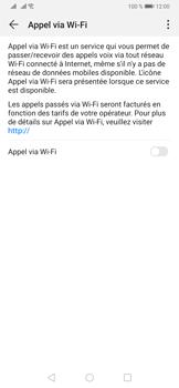 Huawei P30 - WiFi - Activez WiFi Calling - Étape 7