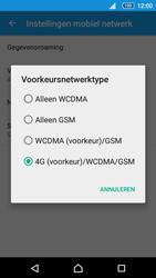 Sony Sony Xperia Z5 (E6653) - Netwerk - Wijzig netwerkmodus - Stap 7
