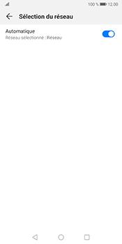 Huawei Mate 10 Pro - Android Pie - Réseau - Sélection manuelle du réseau - Étape 6