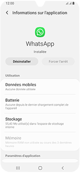 Samsung Galaxy A40 - Applications - Supprimer une application - Étape 6