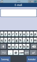 Samsung Wave 723 - Contact, Appels, SMS/MMS - Ajouter un contact - Étape 13