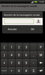 HTC T328e Desire X - Messagerie vocale - configuration manuelle - Étape 8