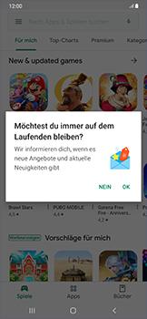 Samsung Galaxy A50 - Apps - Konto anlegen und einrichten - Schritt 20