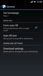 Sony Xperia J - Internet and data roaming - Manual configuration - Step 22