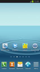 Samsung Galaxy S III - Startanleitung - Installieren von Widgets und Apps auf der Startseite - Schritt 9