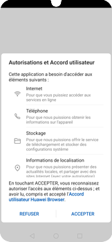 Huawei P30 Pro - Internet et connexion - Naviguer sur internet - Étape 5