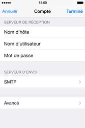 Apple iPhone 4 S iOS 7 - E-mail - Configuration manuelle - Étape 23