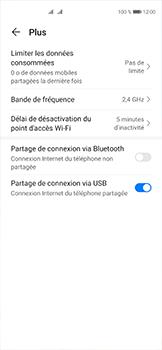 Huawei P40 - Internet et connexion - Utiliser le mode modem par USB - Étape 9