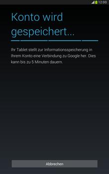 Samsung N5100 Galaxy Note 8-0 - Apps - Konto anlegen und einrichten - Schritt 21
