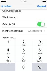 Apple iPhone 4S iOS 9 - E-mail - handmatig instellen - Stap 20