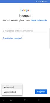 Samsung Galaxy Note9 - apps - account instellen - stap 6