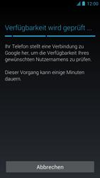 Alcatel One Touch Idol - Apps - Einrichten des App Stores - Schritt 9