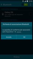 Samsung Galaxy S 5 - Bluetooth - Collegamento dei dispositivi - Fase 7