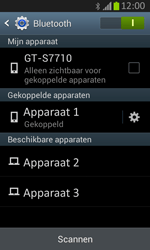 Samsung S7710 Galaxy Xcover 2 - Bluetooth - koppelen met ander apparaat - Stap 10