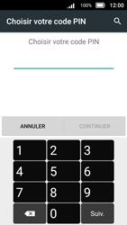 Doro 8031 - Sécuriser votre mobile - Activer le code de verrouillage - Étape 7