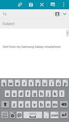 Samsung G850F Galaxy Alpha - E-mail - Sending emails - Step 5