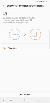 Samsung Galaxy S9 Plus (SM-G965F) - Contacten en data - Contacten kopiëren van SIM naar toestel - Stap 12