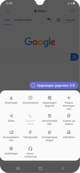 Samsung Galaxy A30 - internet - hoe te internetten - stap 8