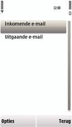 Nokia 5230 - e-mail - handmatig instellen - stap 22