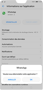 Huawei P20 Pro - Applications - Comment désinstaller une application - Étape 7