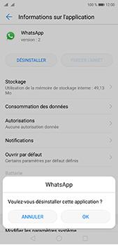 Huawei P20 pro - Applications - Supprimer une application - Étape 7